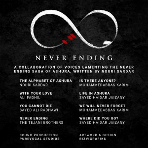 Never Ending - Artwork - Back